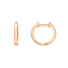 Petite Gold Hoop Earrings