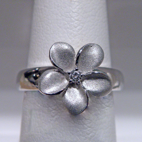 Denny Wong 13mm Plumeria Flower Ring