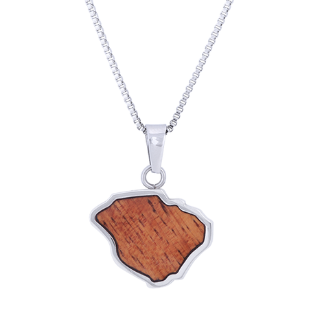 Koa Wood Kauai Necklace