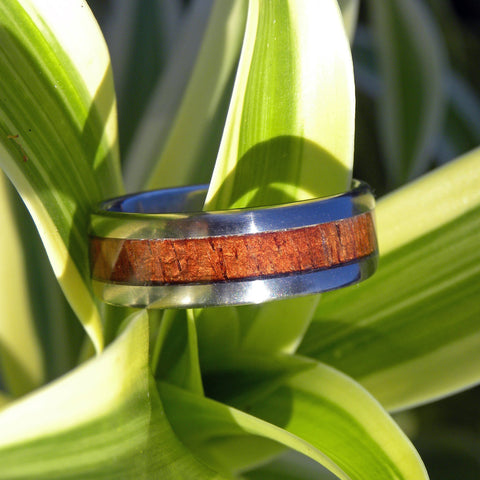 Classic Koa Wood Ring