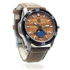Castaway Koa Wood Watch