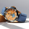 Castaway Copper Koa Wood Watch