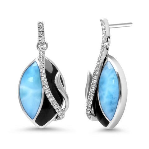Dakota Larimar Earrings