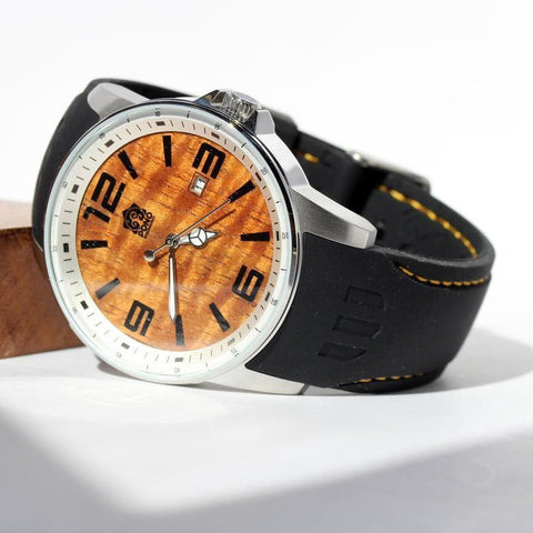 Surfrider Koa Watch