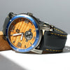 The Waterman in Gunmetal Koa Wood Watch