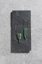 Load image into Gallery viewer, Aventurine trio earrings
