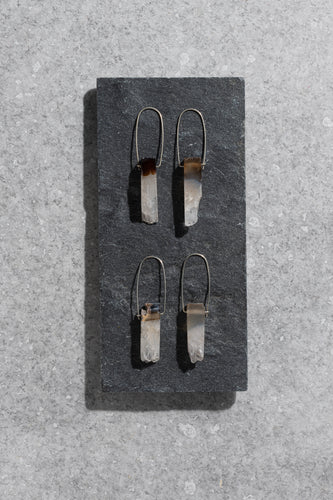 Neutral tone Agate earrings