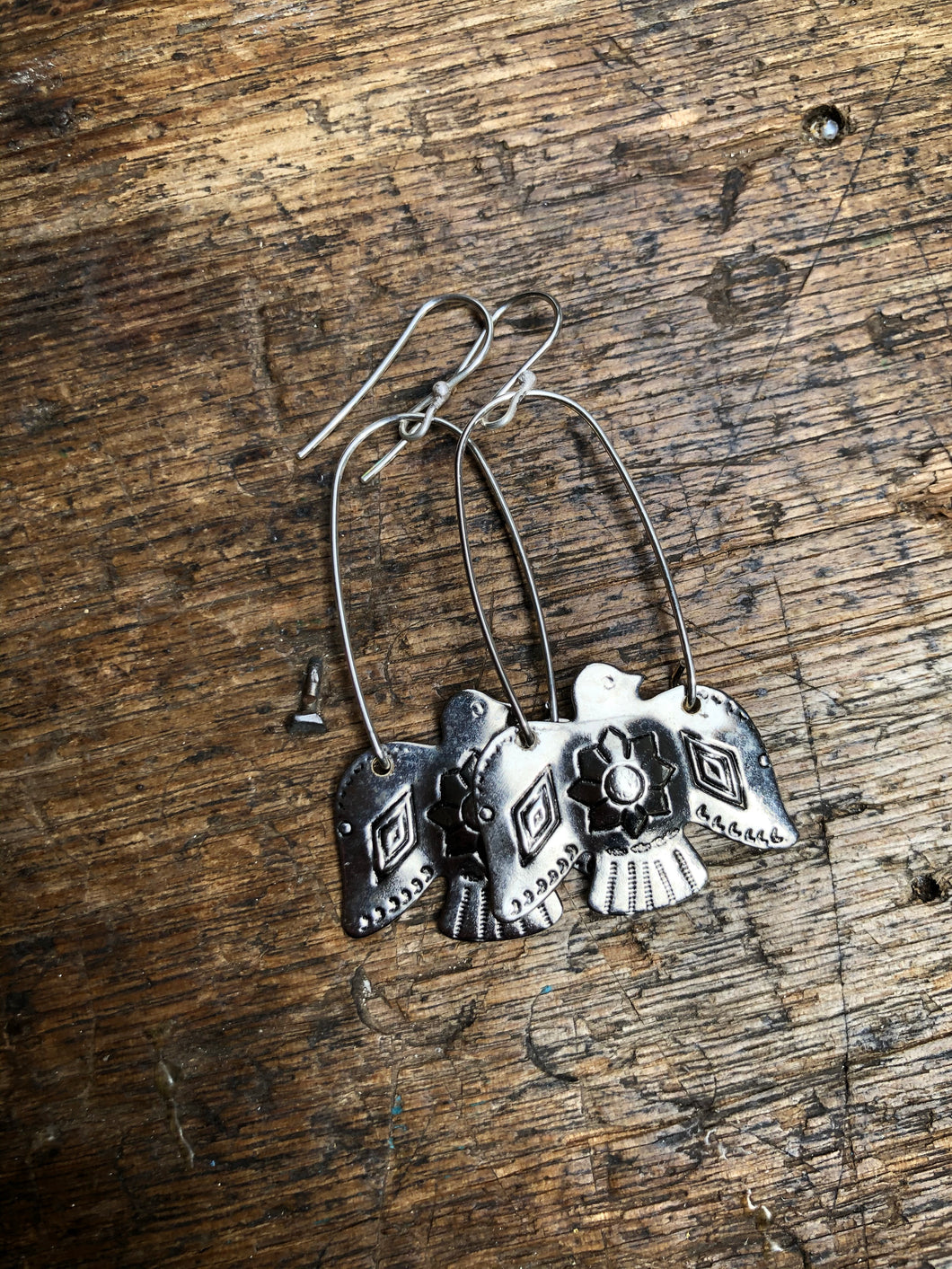 Vintage American Thunderbird earrings