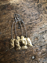 Load image into Gallery viewer, Vintage American Thunderbird earrings