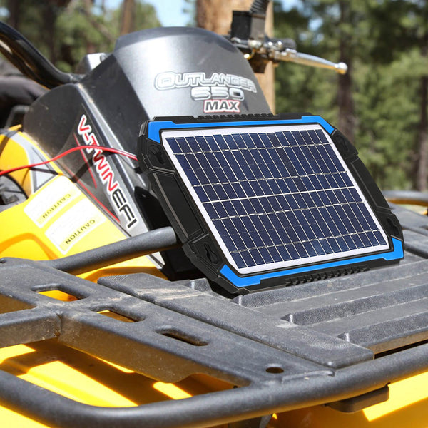 BC 6W Solar Battery Trickle ChargerMaintainer