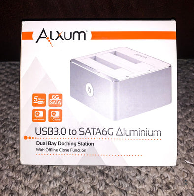 Alxum USB 3.0 Dual Bay Hard Drive Docking Station Review