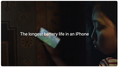 Apple's new ad: iPhone XR has the longest battery life in Apple history