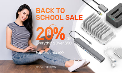 Back to School Sale: 20% OFF Everything Over $50