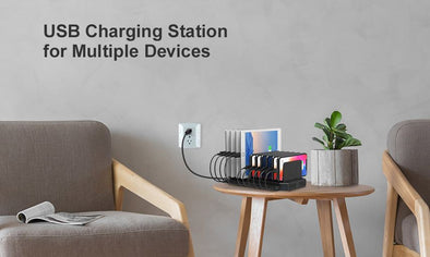 Why do you need a charging station for multiple devices?
