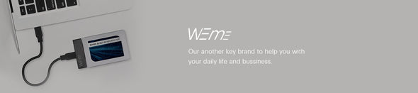 Weme, our another key brand to help you with your daily life and bussiness.