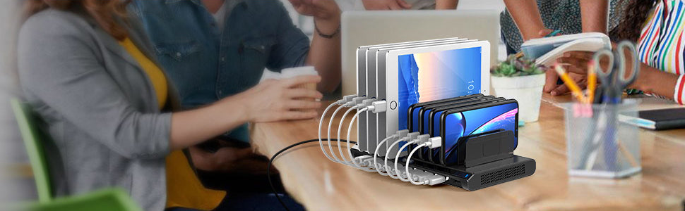 Alxum 10-Port USB Smart Charging Station review
