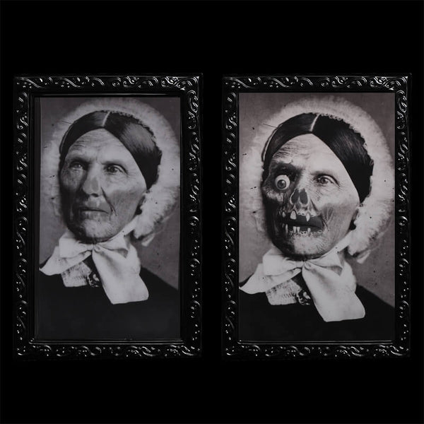 3D Face Changing Ghost Photo