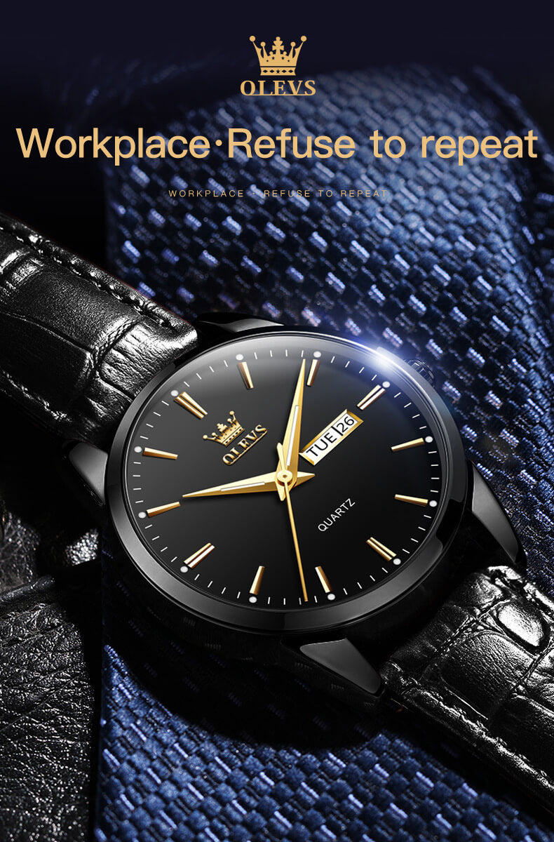 Minimalist Leather Couple Watch for Lovers