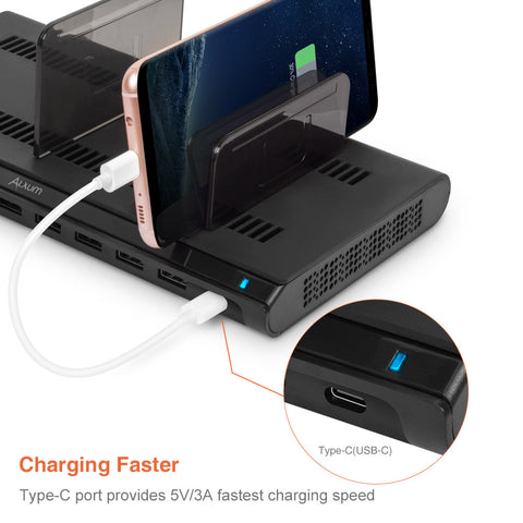 Best USB Charging Station for Multiple Devices 10 Ports 120W!