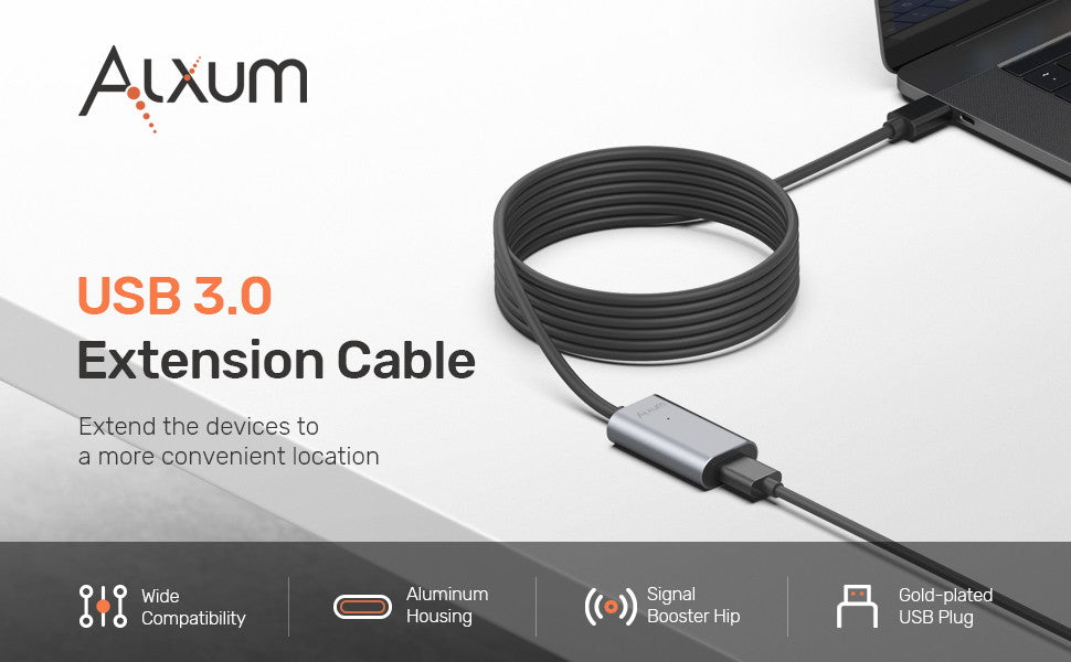 USB A Extension Cable for Oculus Rift 5M/16.4FT