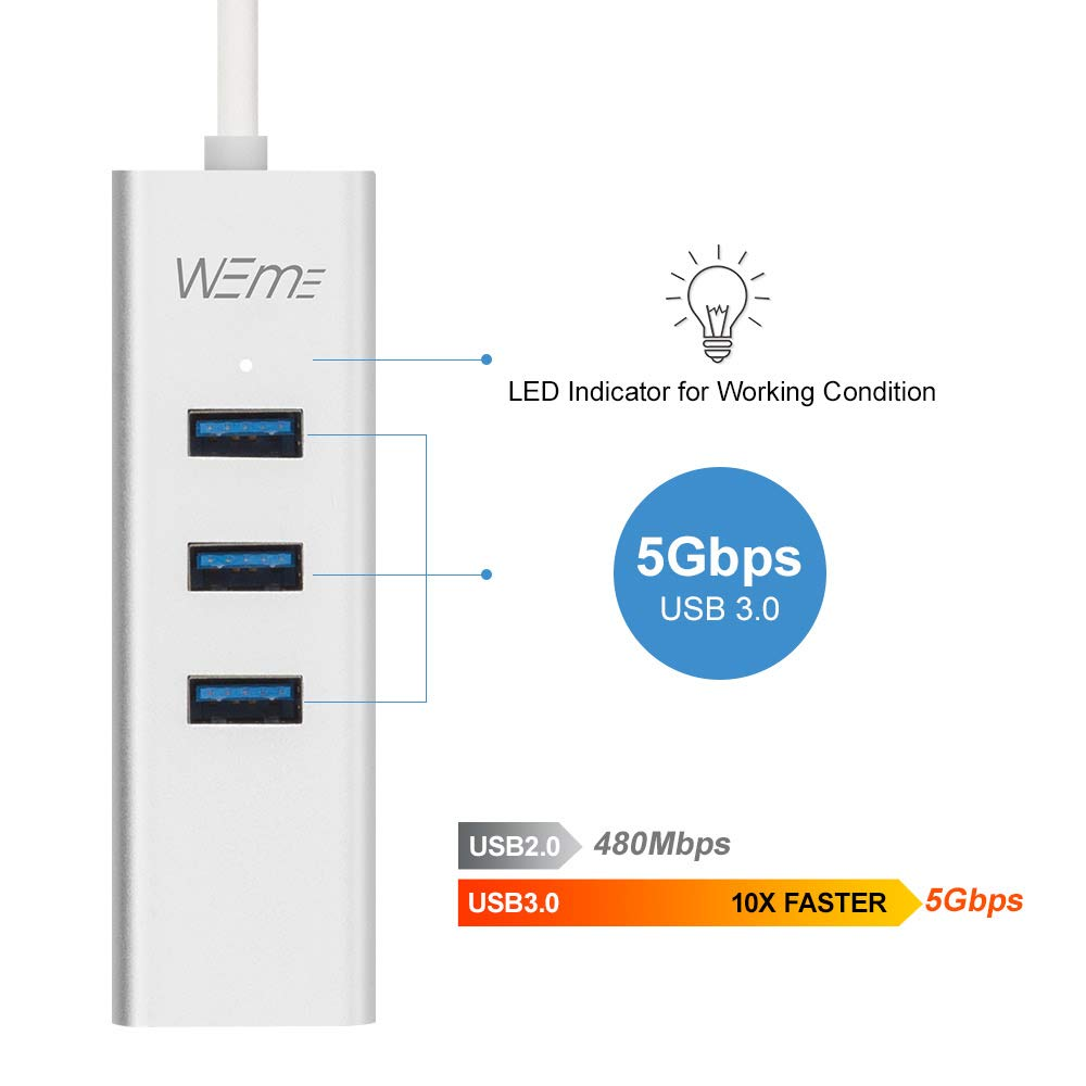 USB Ethernet Adapter WEme