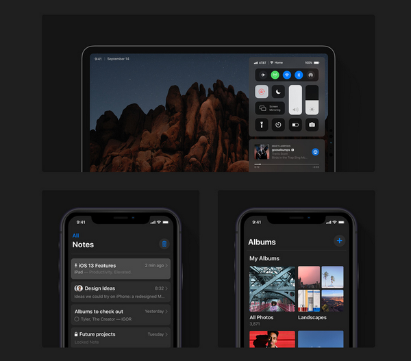 iOS 13 Concept Map: iPad Desktop is Closer to Mac