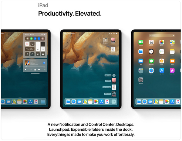 iOS 13 Concept Map iPad Desktop is Closer to Mac