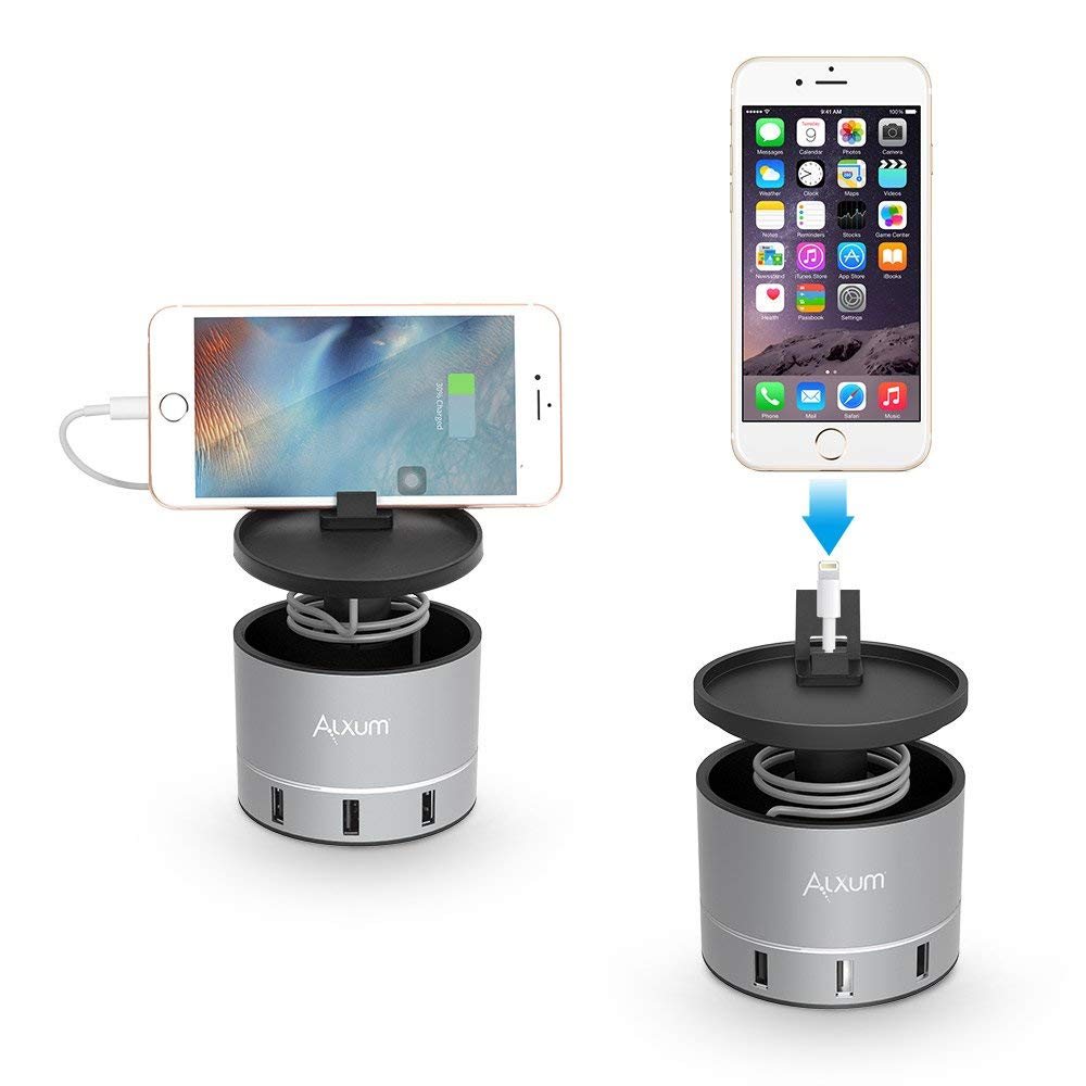 9391681c0364 USB Charging Stand 4 Ports for Apple Watch/iPhone