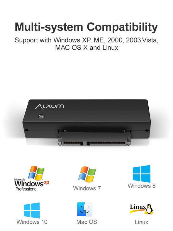 "Hard Drive Adapter USB 3.0 to 2.5""/3.5"" SATA III - alxum-online"