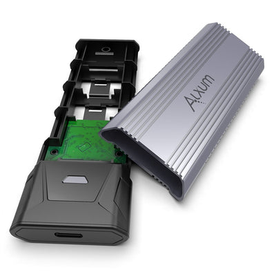 M.2 NVME SATA SSD Enclosure Adapter
