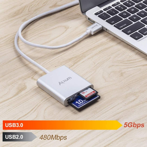 USB 3.0 Card Reader for CFTFSD Card (120CM)