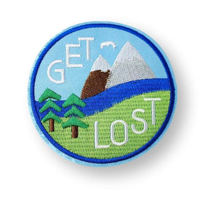 Get Lost Embroidered Patch