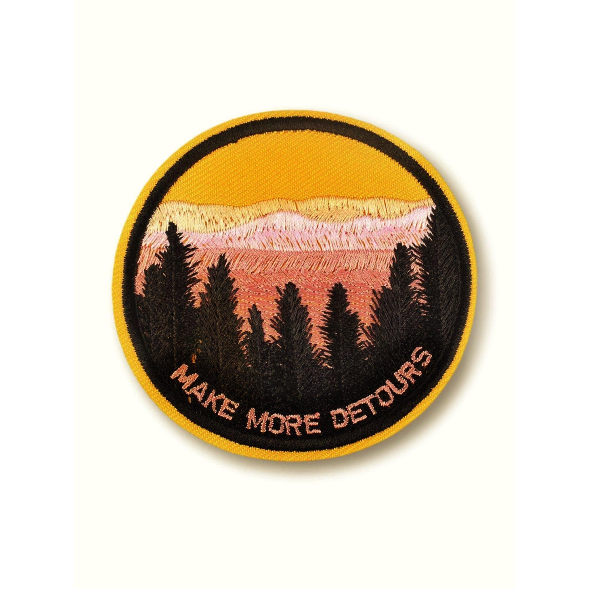 Detours Embroidered Patch