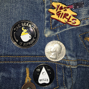 Yes Girls Enamel Pin