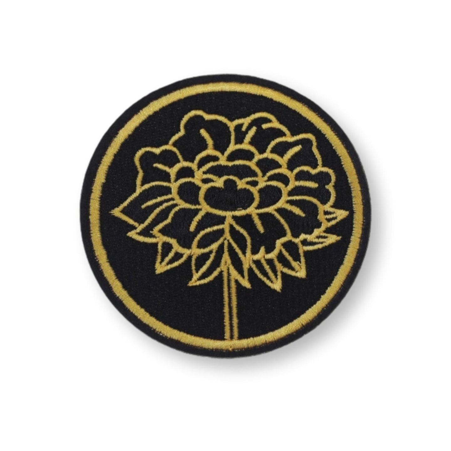 The Chrysanthemum Embroidered Patch