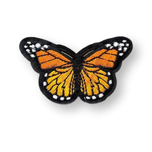 Monarch Butterfly Embroidered Patch