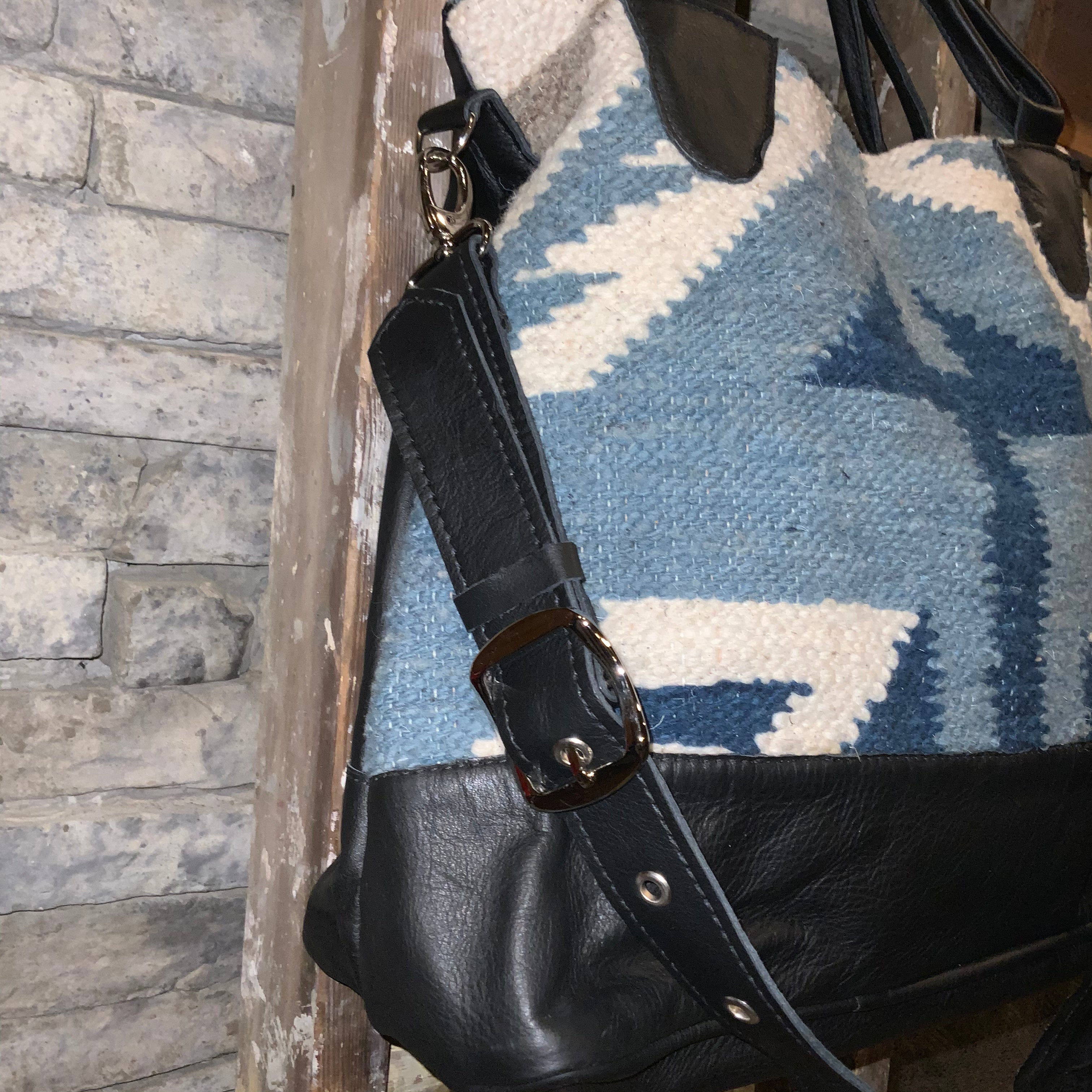 "Slouchy Wool Commuter Tote ""Montana"""