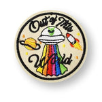 Out Of This World Embroidered Patch
