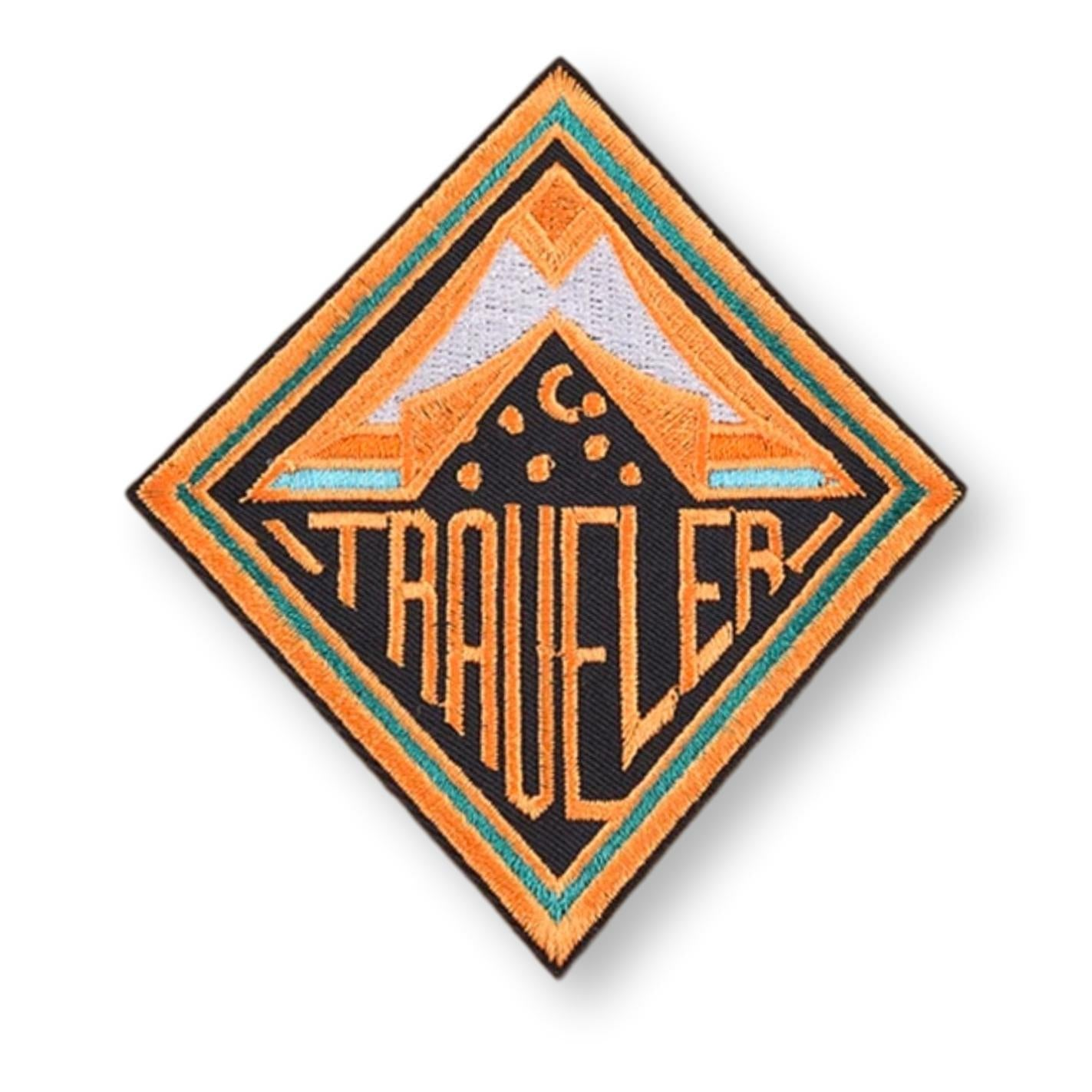Large Traveler Embroidered Patch