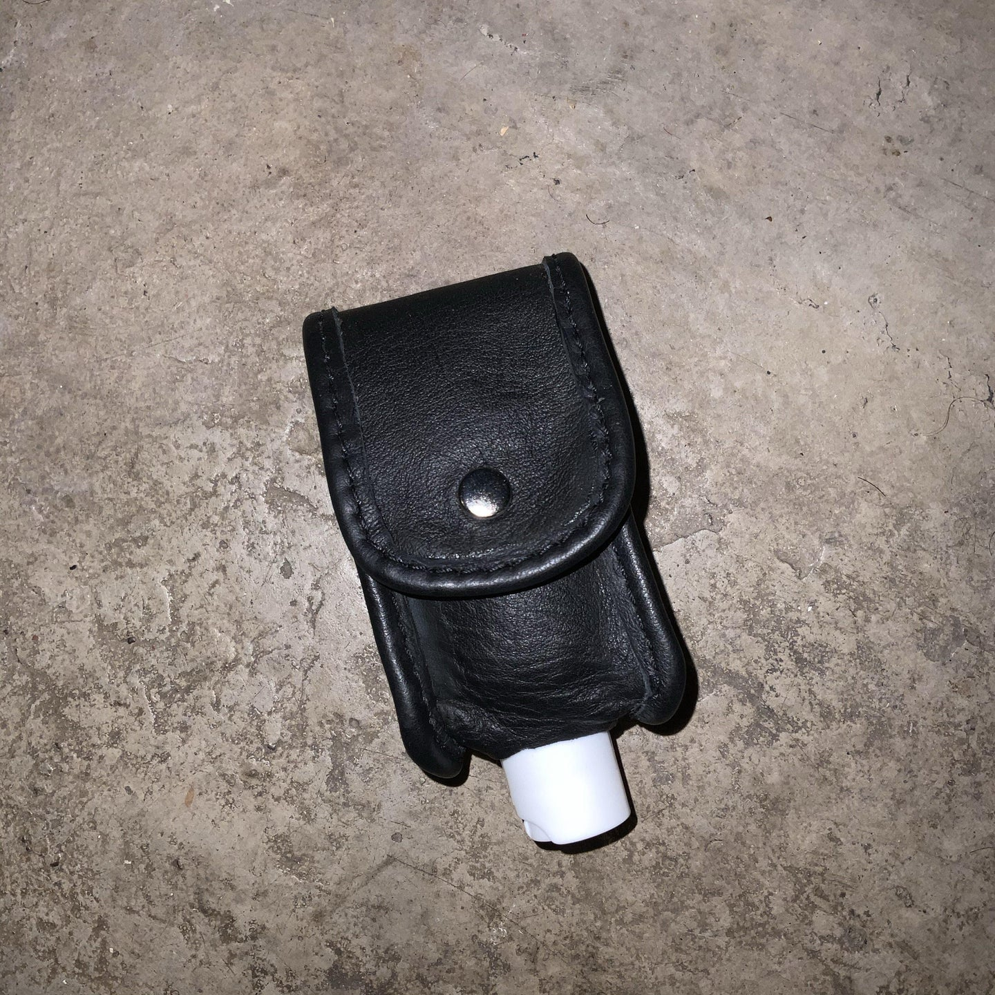 Hand Sanitizer Case with Belt Attachment in Black