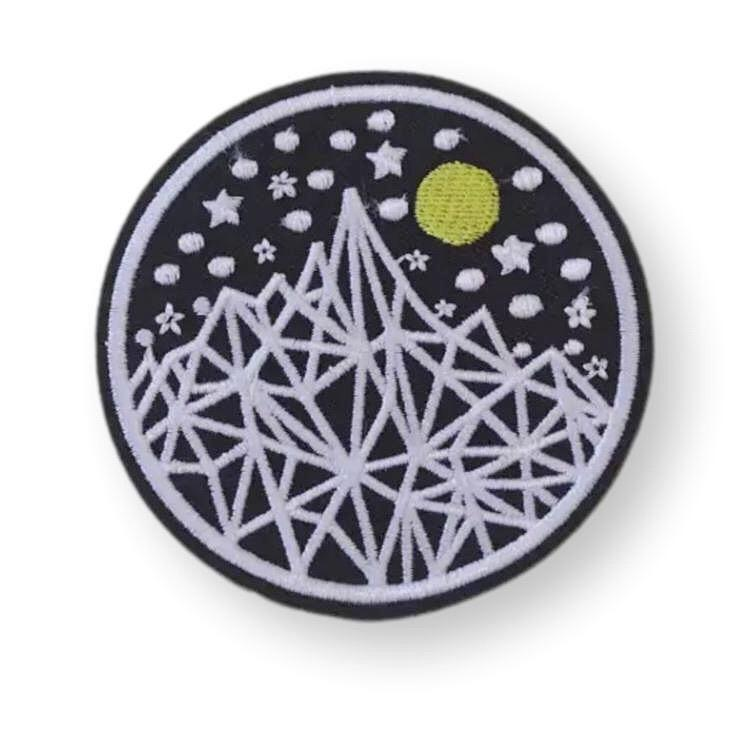Under the Stars Embroidered Patch