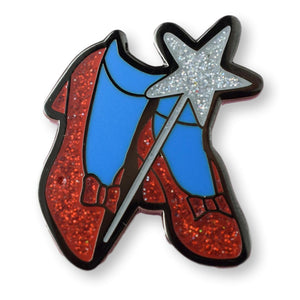 Ruby Slippers Enamel Pin