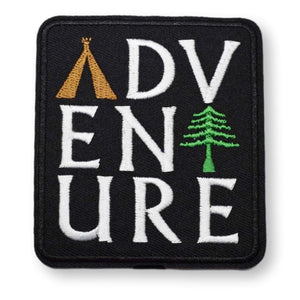 Adventure Embroidered Patch