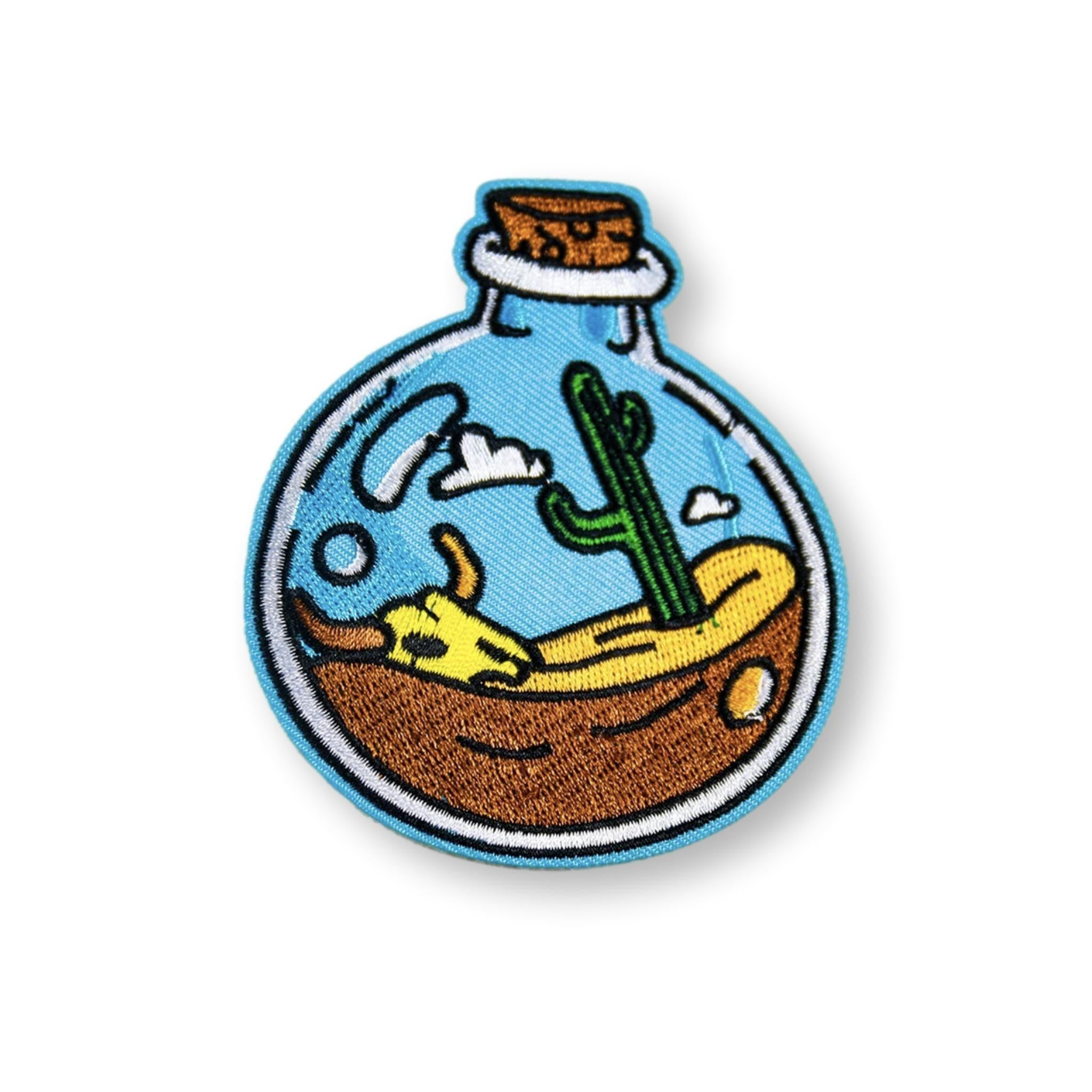 Desert Dreams Embroidered Patch