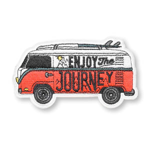 Enjoy the Journey Embroidered Patch