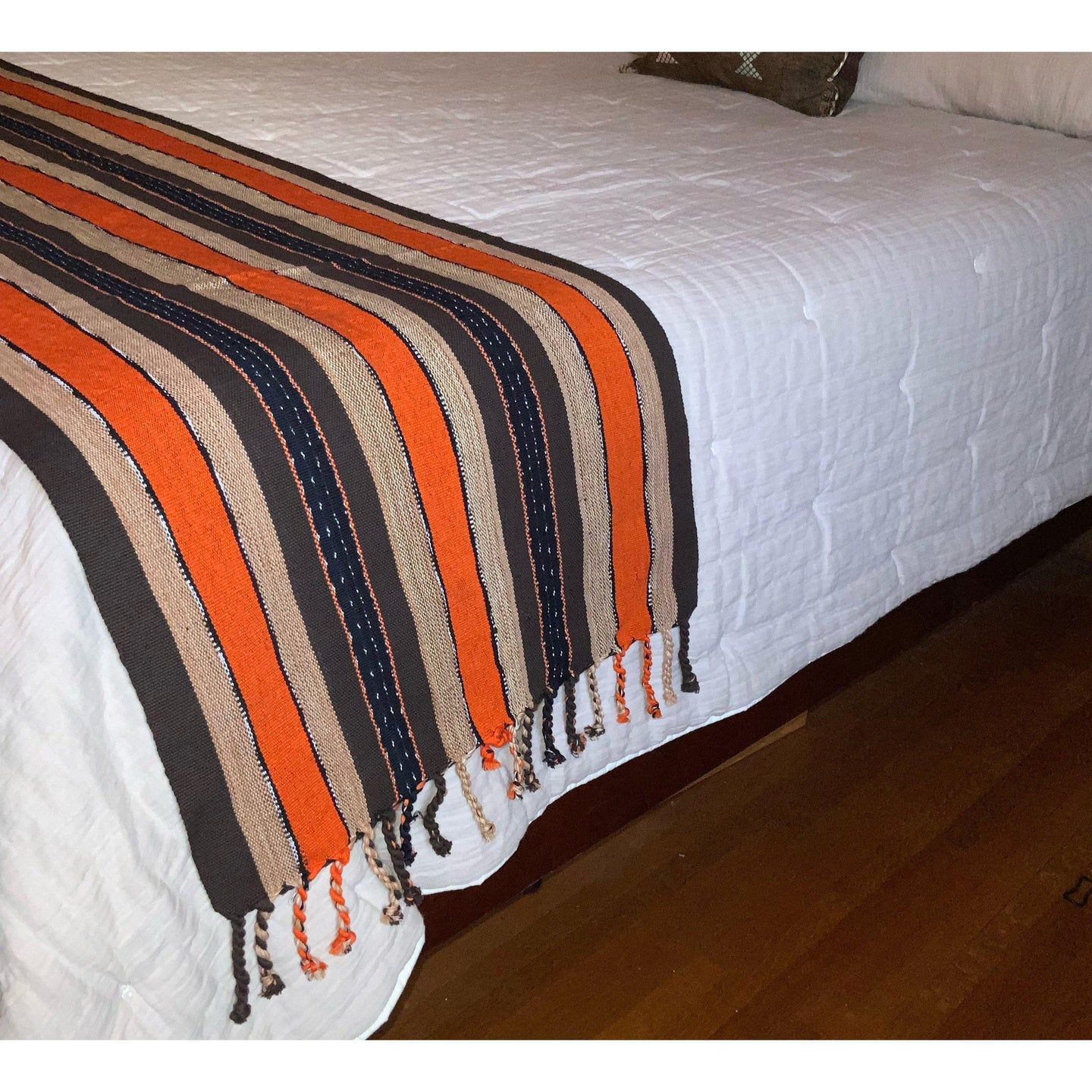 Guatemalan Woven Bed Runner/Throw/Table Runner #4