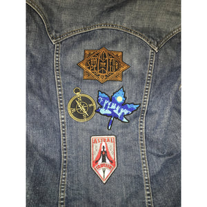 The Compass Embroidered Patch
