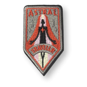 Astral Traveler Embroidered Patch