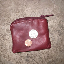 Load image into Gallery viewer, Sidekick Petite Coin Purse in Redwood
