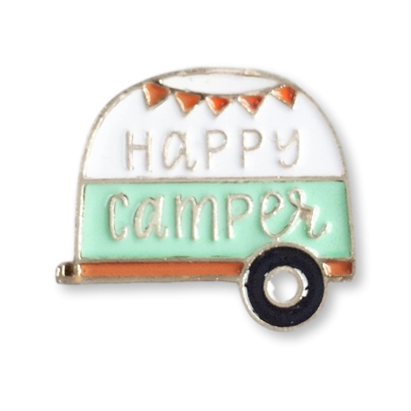 Happy Camper Enamel Pin